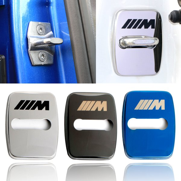 4pcs/set Car Styling Emblems Stickers Case For BMW 1 2 3 5 6 7-Series X1 X3 X4 X5 X6 M1 M3 Accessories