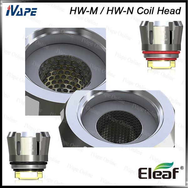 Eleaf HW-M tête 0.15ohm Eleaf HW-N tête 0.2ohm Reimagined Net et bobines de remplacement multihole pour iJust 3 Ello Duro 100% Original