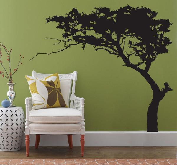 5 Designs Big Tree Pattern Wall Stickers Wallpaper Paper Peint 3d Home Decor Bathroom Kitchen Accessories Household Suppllies