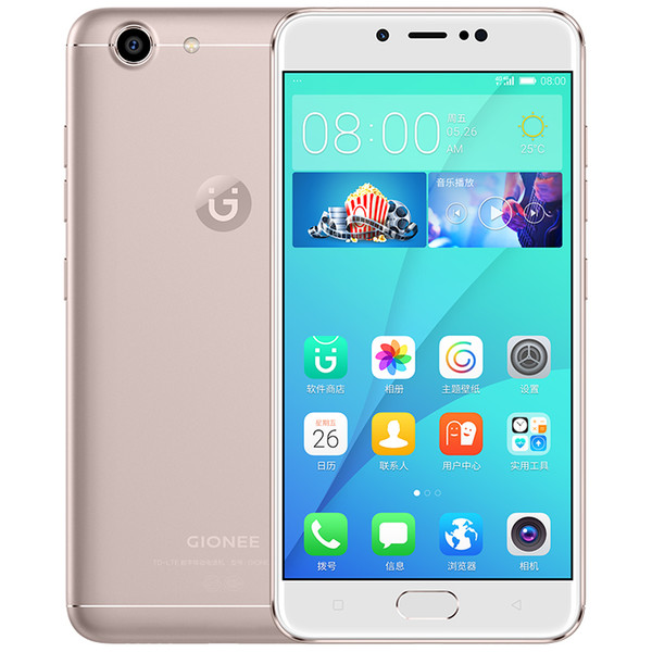 Original Gionee S10C 4G LTE Cell Phone 4GB RAM 32GB ROM Snapdragon 427 Android 5.2 inch 16.0MP Fingerprint ID Smart Mobile Phone Cheap