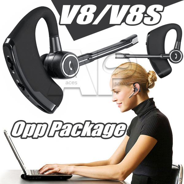 Наушники V8S Наушники Беспроводные наушники Наушники Handsfree Гарнитуры 4.0 Legend Stereo V8 М