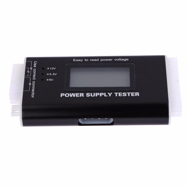 Tester per HDD SATA a 20/24 pin per PC digitale LCD