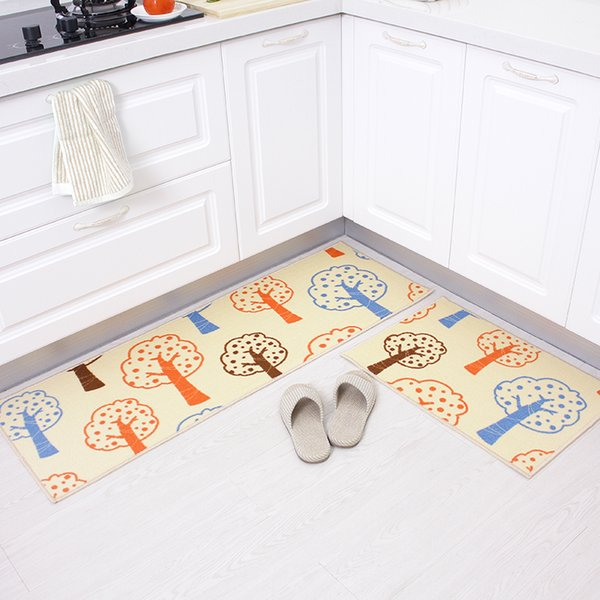 Kitchen Floor Mat Long Carpet Living Room Bedroom Bedside Mat Doormat Rugs For Kitchen Bathroom Water Absorbent And Antiskid Pad Toilet Rugs
