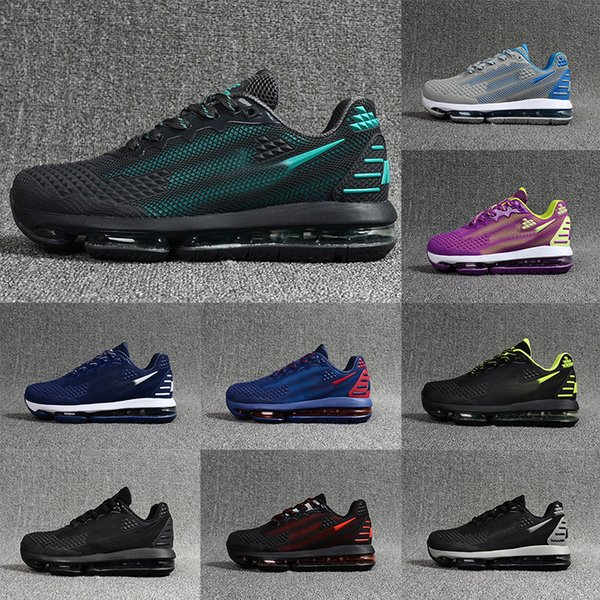 Newest Maxes 2019 Nano Scale Plastic Colorway Maxes Mens Womens Casual Shoes Triplr Black Grey KPU Trainers Sneakers Size 36 47 Shoes On Sale Ladies