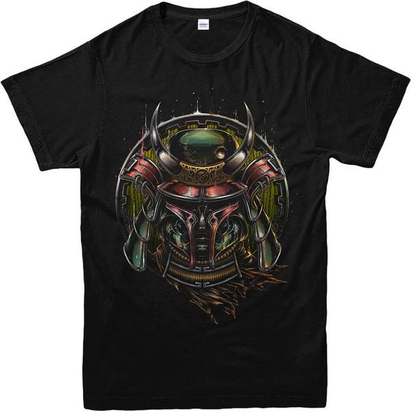 Boba Fett T-Shirt, Samurai Armour, Inspired Design Top (BFSJA) Men Adult Slim Fit T Shirt S-Xxl