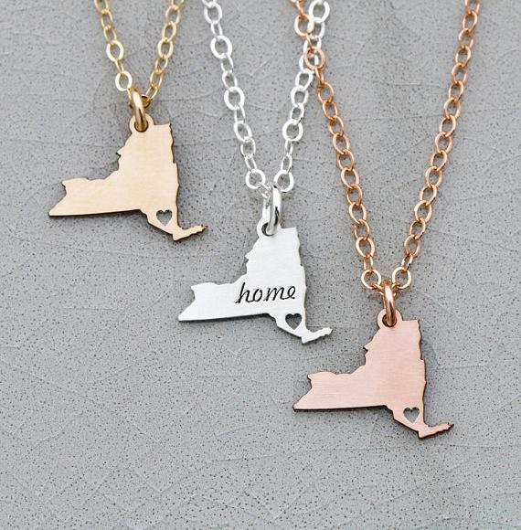2018 New Design New York Necklace Personalized Names Or Letters Best Gift For Friend Accept Drop Shipping YP6380