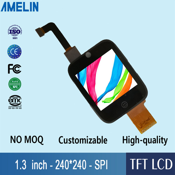 1.3 inch 240*240 tft lcd module display with IPS Viewing Direction screen and capacitive touch panel