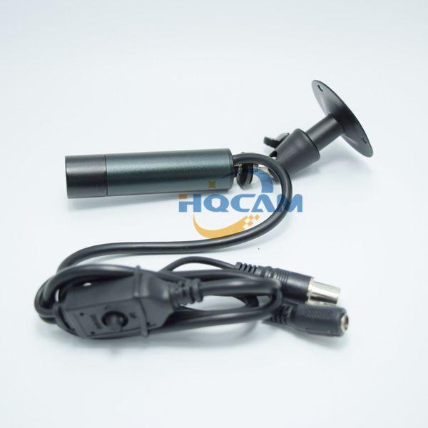 HQCAM OSD menu Mini Bullet camera Outdoor Waterproof SONY 960H Effio 700TVL CCD Color 8mm CCTV Security Camera 960H 4140+810\811