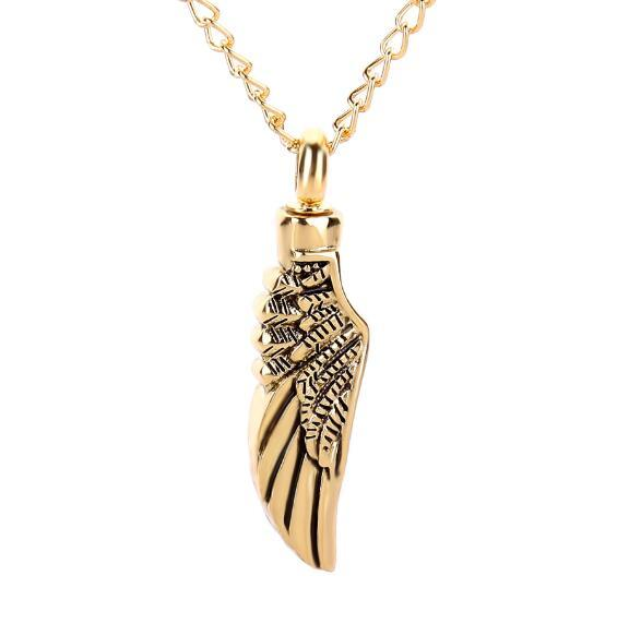 Japan and South Korea pop creative angel wings can open Pendant Necklace manufacturers lockets wholesale jewelry necklace