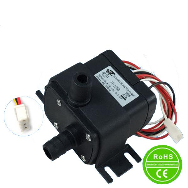 New DC Solar Fountain Pump 350L/H Flow Max Water Pump 12V Can be Used Submersible and Land Type