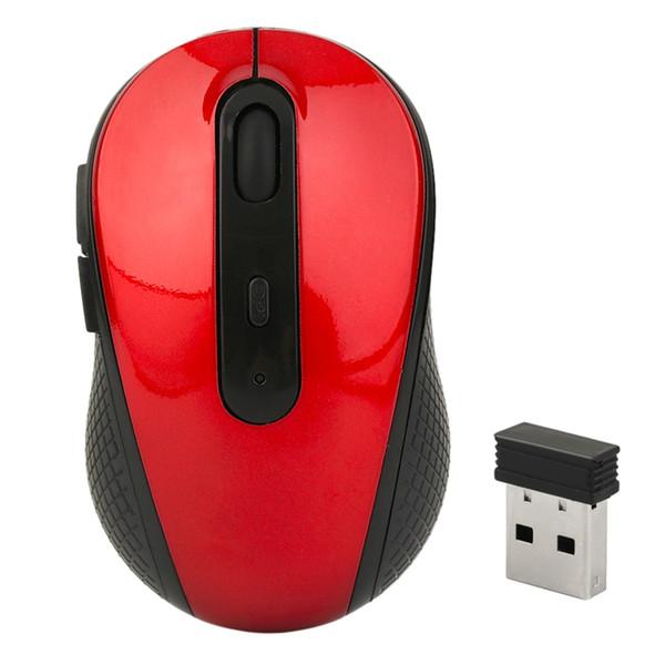 Souris Sans Fil 2.4GHz USB Optique Souris Sans Fil USB Récepteur Souris Jeu Sans Fil Ordinateur PC Ordinateur Portable Bureau 3 Couleurs