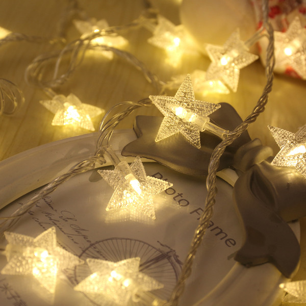 [] every day special offer LED star light lights string battery pictures decorate the room decorate decorative lights