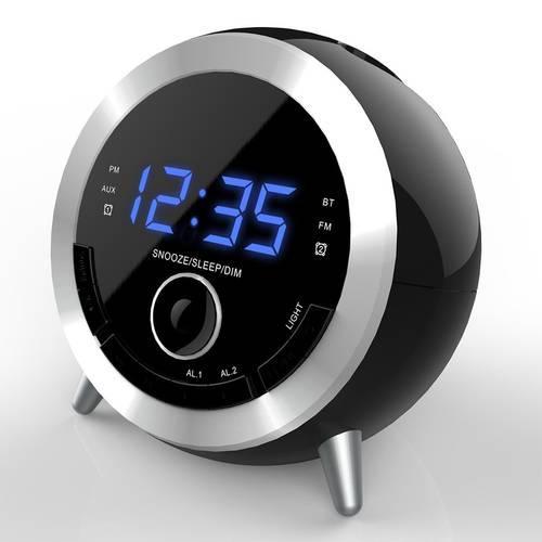Multifunktionale Sound-Tabelle Digitaler UKW-Radio-Wecker Bluetooth-Lautsprecher USB-Ladeanschluss Sleep Timer Overseas Warehouse