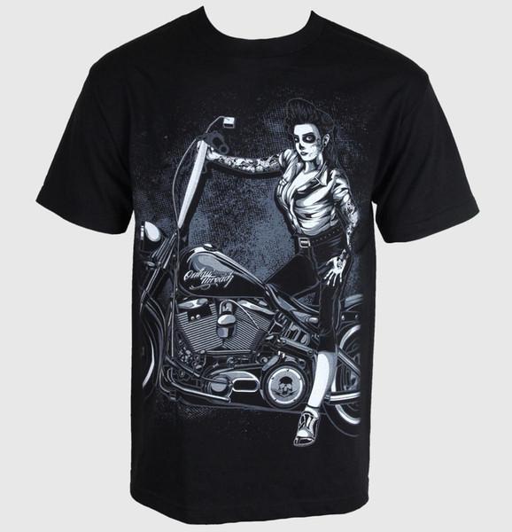 T-shirt de Herren Outlaw Threadz - Hardcore Americano - Größe M