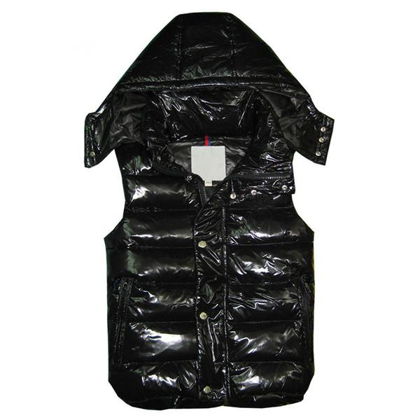 Nouvelle marque classique hommes femmes hiver bas veste vestes plume weskit femmes vestes décontractées manteau mens bas manteau vêtements d'extérieur, plus la taille: XS-XXXXL