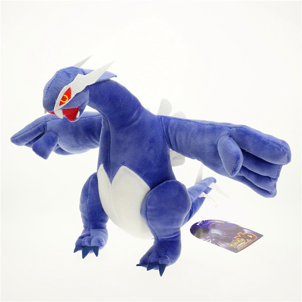 Stuffed Lugia Dinosaur Plush Toys Plush Dinosaur Stuffed Animal Dinosaur Toy for Baby Girl Boy Kids Birthday Gifts 30cm 12 inch
