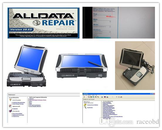 alldata repair mitchell onde/ma/nd5 all data 10.53 car and truck diagnostic data with computer cf19 touch hdd 1tb windows 7
