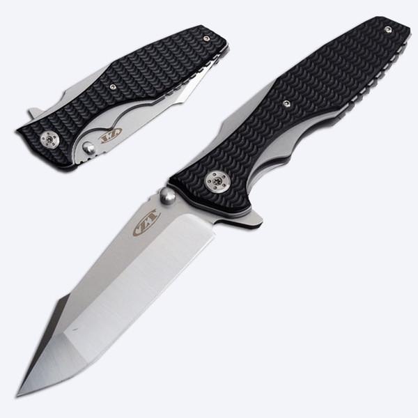 Новые 2 стили нулевой терпимости ZT0393 открытый складной карманный нож Флиппер помощь открытие папки 440 лезвие EDC охотничьи ножи P439F