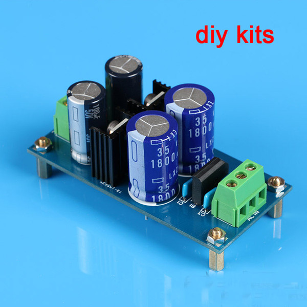 Freeshipping 7815 7915 Dual Voltage Power Rectifier Filter +-15V AC/DC Regulator DIY kit