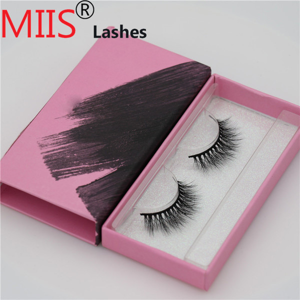 Wholesale best-selling beautiful 100% Hand Made False 3D Mink Eyelashes with Custom Eyelash Packaging