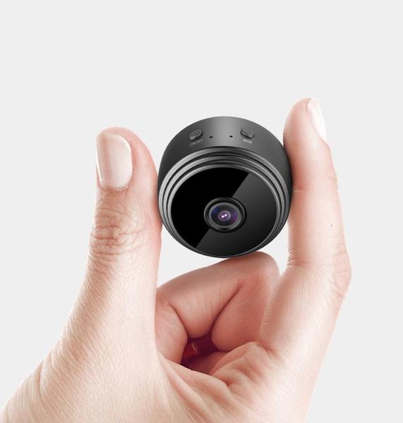 HD 2MP mini drahtlose tragbare unsichtbare IR Nachtsicht Überwachungskamera Babyphone Unterstützung Smartphone App Anzeige mit Geschenkbox DHL frei