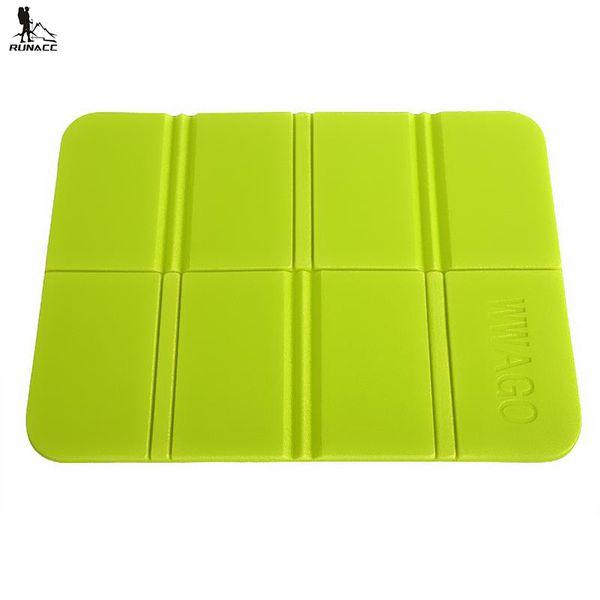 RUNACC Outdoor Foldable Mat Camping Cushion Picnic Sitting Mat Portable Sleeping Pad Folding Outdoor Camping Seat
