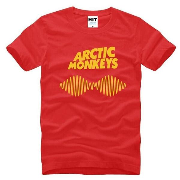 Arctic Monkeys Rock Printed Mens Men T Shirt Tshirt Fashion 2017 New Short Sleeve O Neck Cotton T-shirt Tee Camisetas Hombre