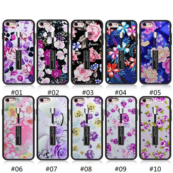 Phone case for LG Aisto 2 K10 2017 Samsung S9 S9 Plus Holder Metal Stand Armor Kickstand Cover New model Continuous renewal...