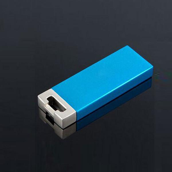 10 PCS No logo Mini stick 4GB USB Flash Drive Mini metal USB Key finger USB Memory Stick 8GB USB2.0