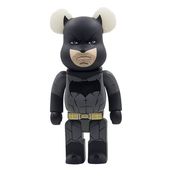 Bearbrick violent bear building blocks bear DC comics Batman dolls even hand model ornaments toys gift products high 28cm