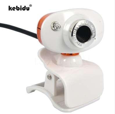 kebidu HD 500W Mini USB 50Mega Pixel Retractable Clip WebCam Web Camera for Skype Computer PC Laptop For MSN for Yahoo wholesale