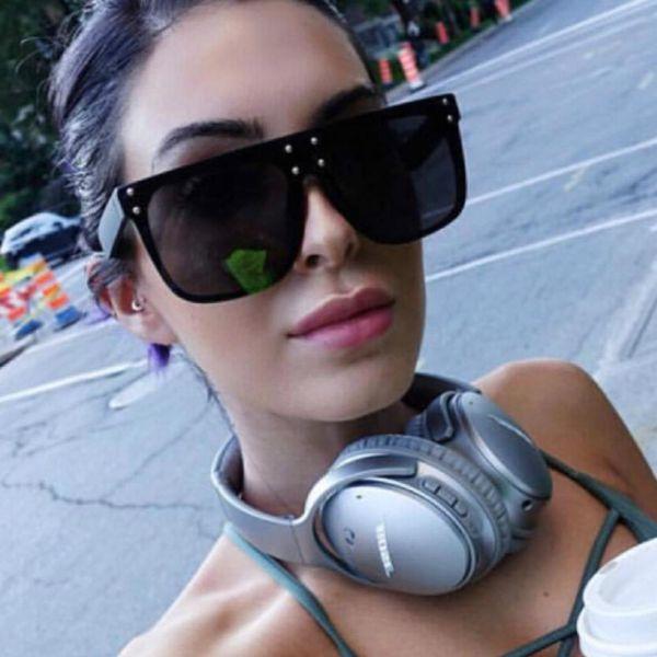 Big Frame Sunglasses Women Oversized Sun Glasses Vintage Cat Eye Sunglasses Top Sellers Luxury Fashion Brand
