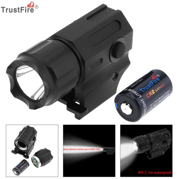 TrustFire wasserdichte G03 XP-G R5 LED 210LM taktische Taschenlampe militärische Waffe Lichter + CR2 3V 750mAh Lithium-Batterie LEF_71G