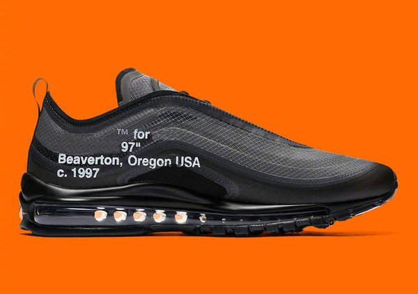 2019 2018 Release Sale OFF Max 97 OG Sneakers Black Cone Black White Shoelaces Authentic QualitySports Running Shoes With Original Box US5.5 13 From