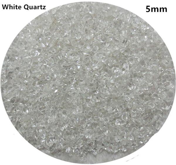 C01 5mm Natural Crystal Crystal Stone Chips Ghiaia al quarzo