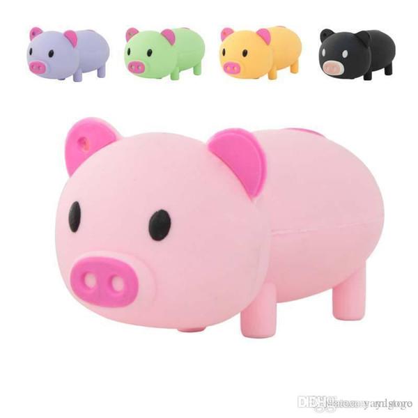 Fantástico Bravo preço Por Atacado Dos Desenhos Animados Usb Flash Drive Bonito Pig Pen Drive 2 GB-64 GB Presente Usb Drives Storages U355 vara