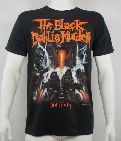 Authentic THE BLACK DAHLIA MURDER Majesty Metal Blade T-Shirt 2018 New Fashion Men'S T-Shirts Short Sleeve Simple Style