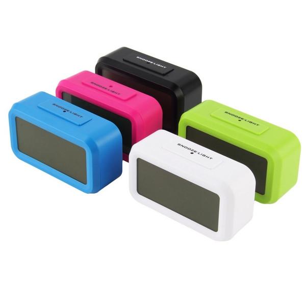 Multifunction LED Alarm Clock,despertador Sounds Control LED display,electronic desktop Digital table clocks with Time Temperature