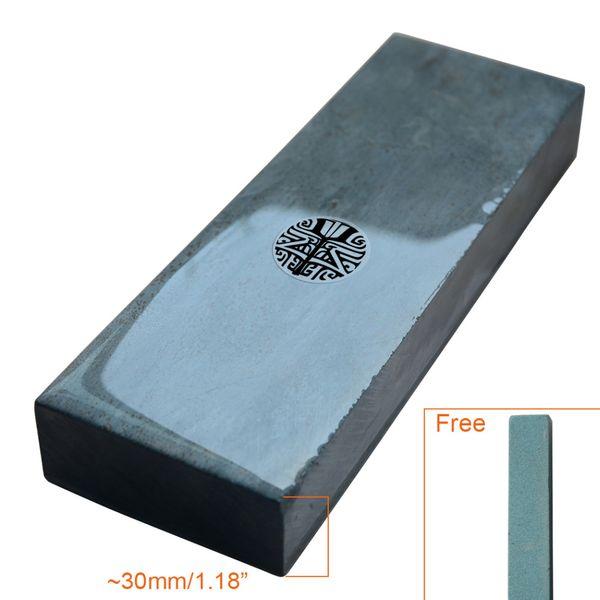 "wholesale Guangxi 3000# Grit Whetstone Waterstone Straight Razor Folding Knife Sharpening Stone Barber Natural 7"""