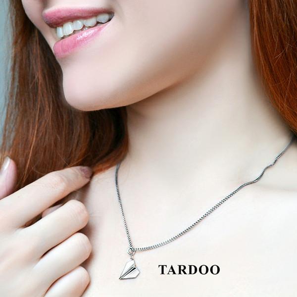 Tardoo Really Sterling Silver 925 jewelry Collares para Mujeres Colgantes de Aviones Moda Simple Collares Joyería FinaY1882803