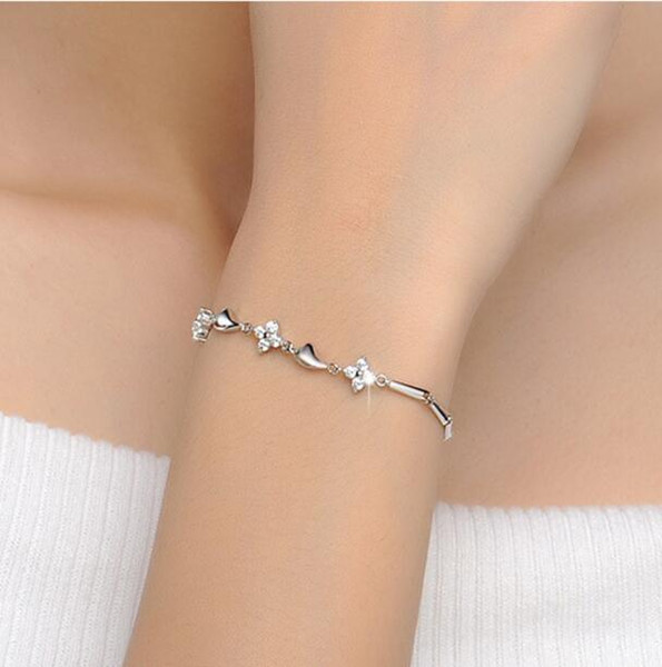 S925 gümüş dize bender gümüş bilezik moda vahşi takı GB05