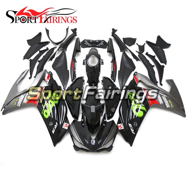 R3 R5 gris negro motocicletas kit de carenado completo para Yamaha R25 R3 2015 2016 ABS plástico motocicleta Body Bodywork personalizar personalizar nuevo