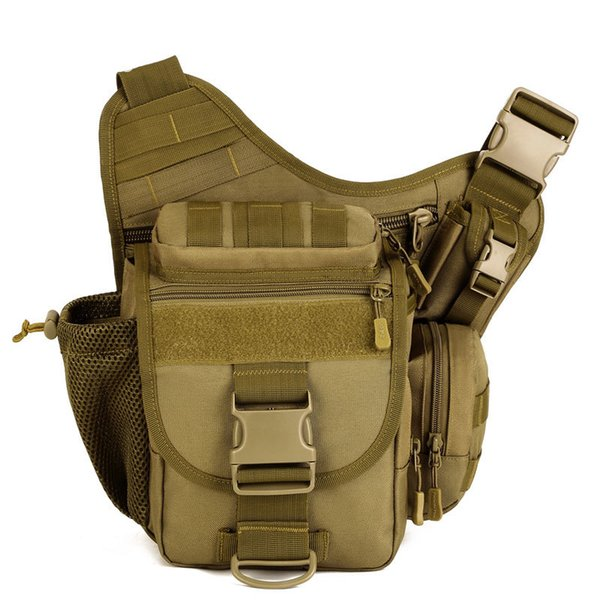 New Men Style Cross Body Pack Sport Single Strap Sling One Shoulder Bags Camera Bag Travel Climbing Camping Hiking Messenger Bag