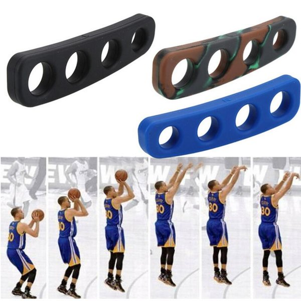 Silicone Shot Lock Basketball Ball Shooting Trainer Training Accessories Three-Point Size For Kids Adult Man Teens Free Shipping