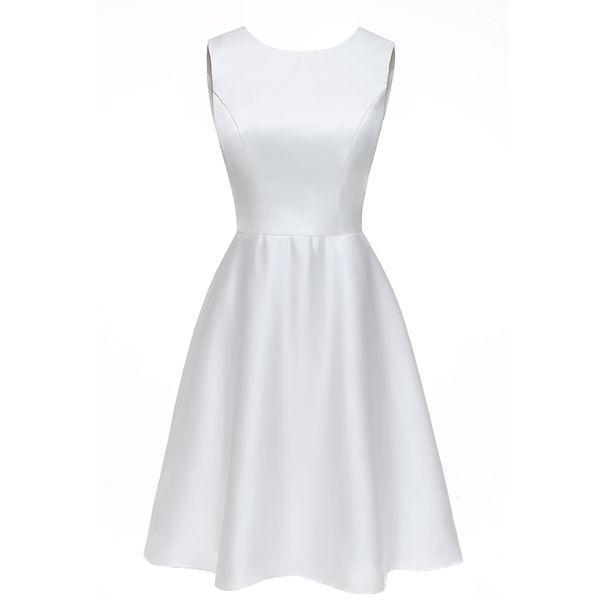 Short Beach Wedding Dresses 2019 Elegant Bride Dress Simple Cheap Knee Length Wedding Gowns 2018 Real Photo Custom Make Vestidos De Noiva