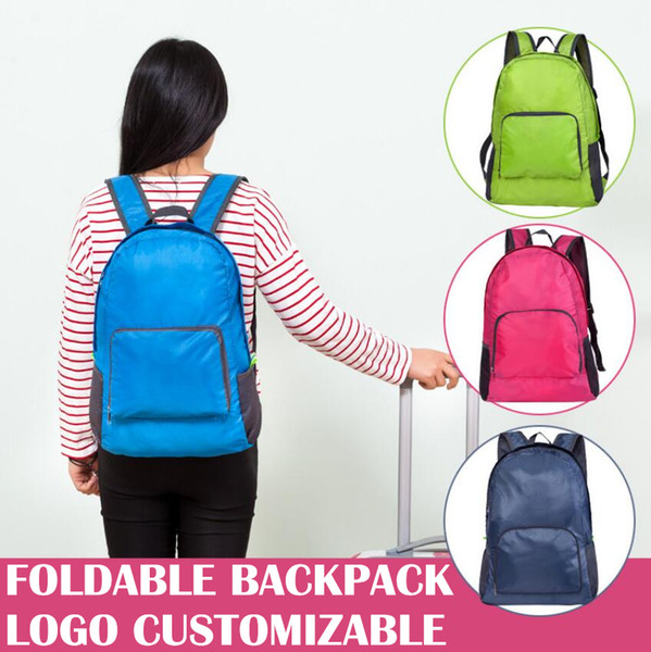 best selling Portable Backpack Folding Waterproof Travel Sport Riding Storage Backpack Outdoor Camping Logo Customizable For Company NNA169