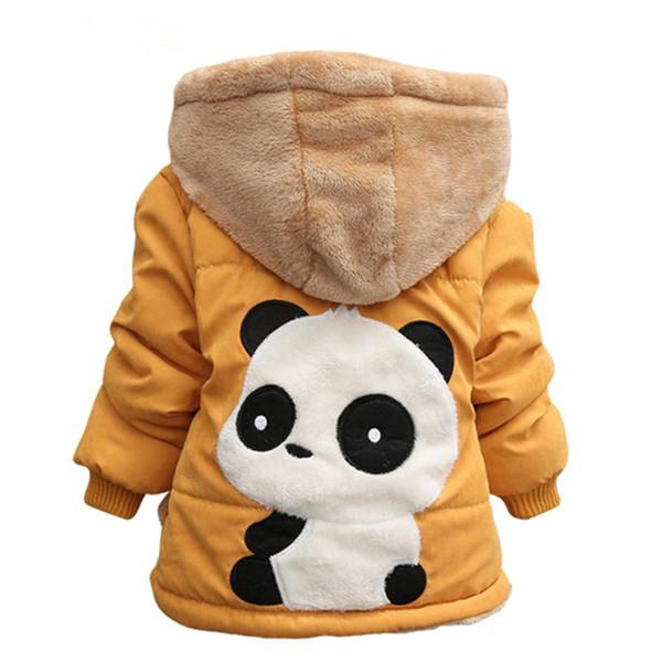 Infant Giacche 2018 Autunno Inverno Neonati maschi Giacche per bambini Giacche per bambini Capispalla per bambini Cashmere Cappotto con cappuccio Abbigliamento per bambini