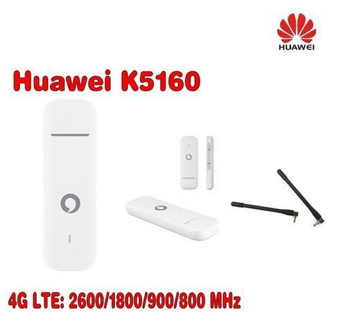 Vodafone K5160 HUAWEI 4G usb dongle 150Mbps разблокирован 4G модем плюс 2 шт. антенна