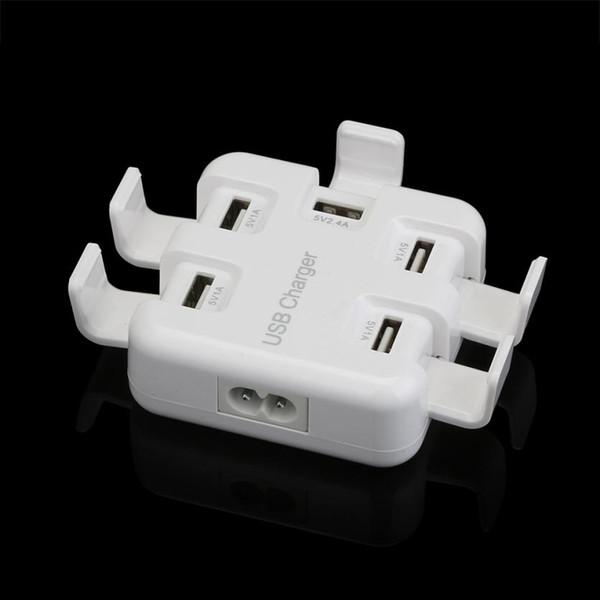 Superior Quality 5V 5.4A 5 Port USB Smart Charger Multi-hub Travel Adapter US Plug Mar10