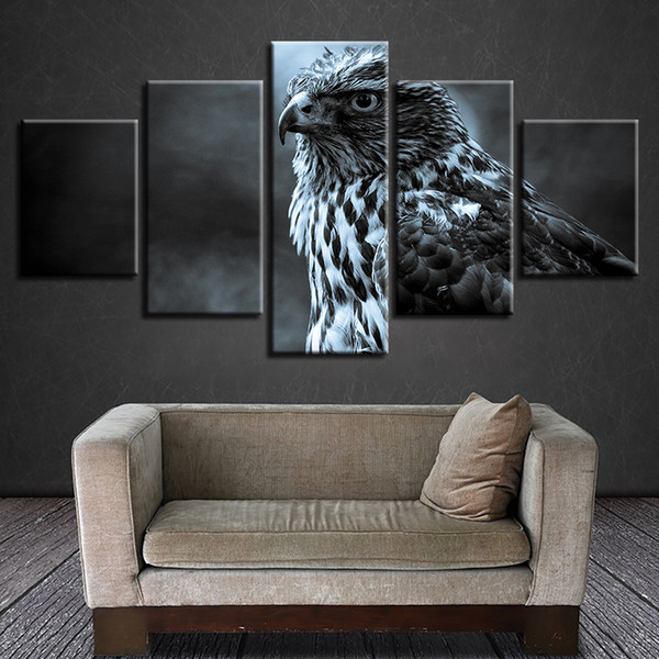 Art Wall Animal Eagle painting HD Picture Printed on canvas Modern Home Decor